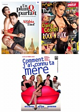 3 films : Comment j'ai ... + Un plan Q... + Porn Tour..