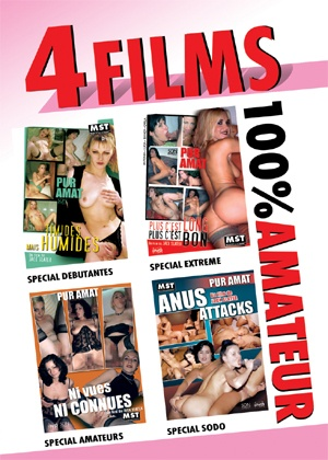 dvd Pack 4 films MST amateur n°7