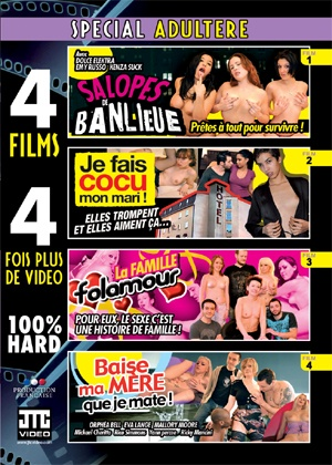dvd 4 films sp Adultère
